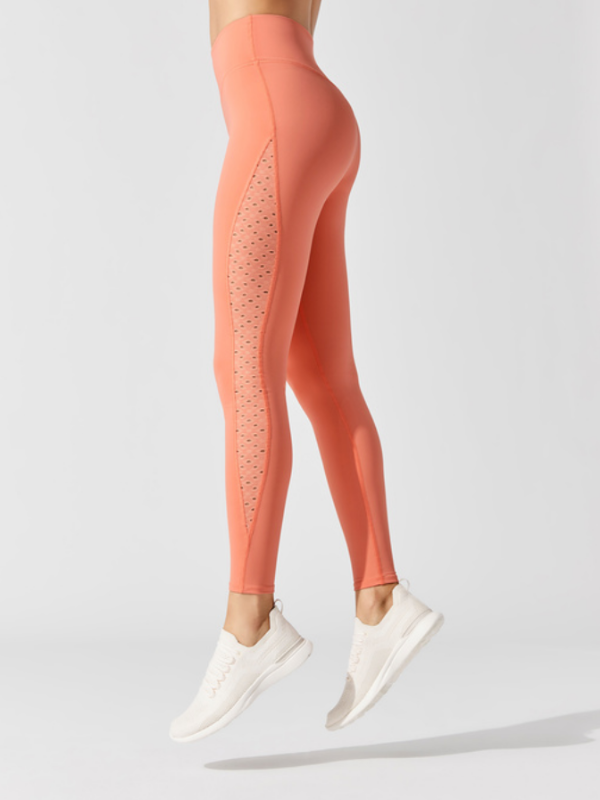 lift up leggings - rose