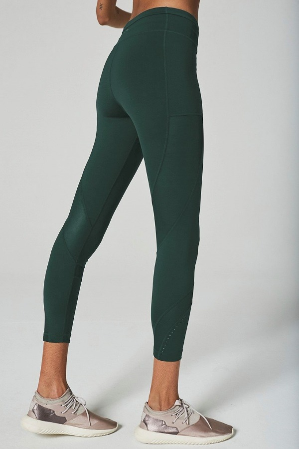lift up leggings - green